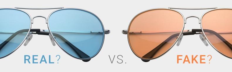 Tre sätt att avgöra om dina nya solglasögon faktiskt är oäkta (guide med  bilder)  c862eb0896e14